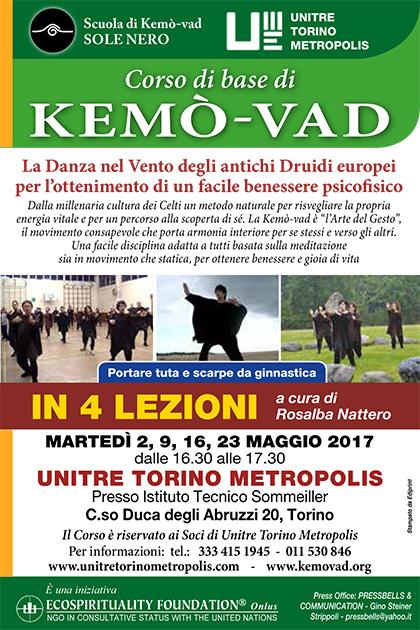 Corso di base di Kemò-vad - UNITRE TORINO METROPOLIS - Maggio 2017