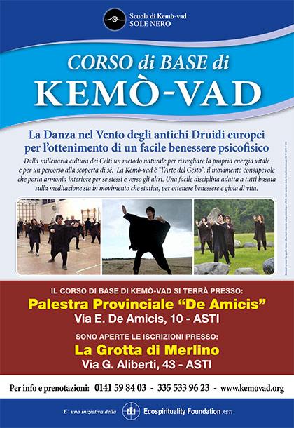 CORSO di BASE di KEMÒ-VAD - Palestra Provinciale De Amicis, Asti