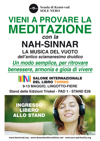 Meditazione con la Nah-Sinnar al Salone Internazionale del libro di Torino 2019